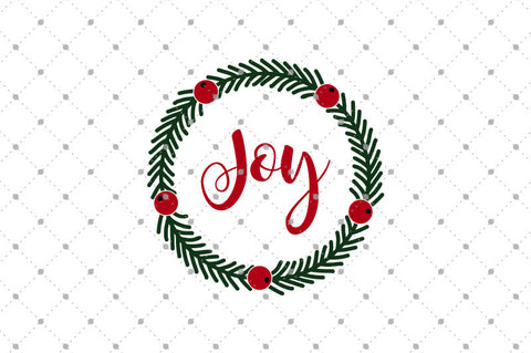 Christmas Wreath SVG files D3 at SVG Cut Studio