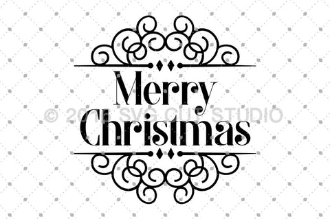 Merry Christmas SVG Cut Files