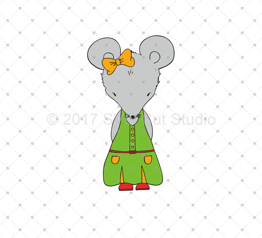 Hand Drawn Mouse SVG Cut Files - SVG Cut Studio
