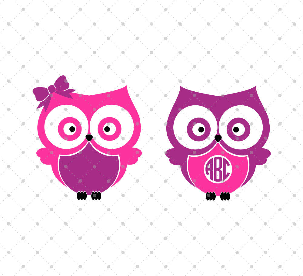 Owls SVG Cut Files - SVG Cut Studio