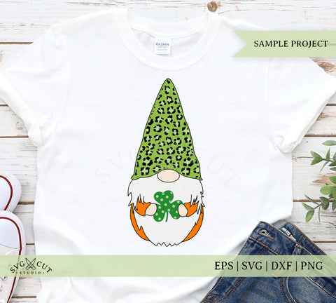 gnome svg st pattricks day svg