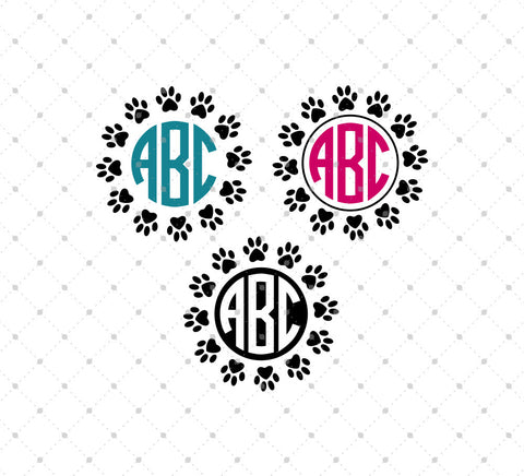 Monogram SVG cut files – Page 4