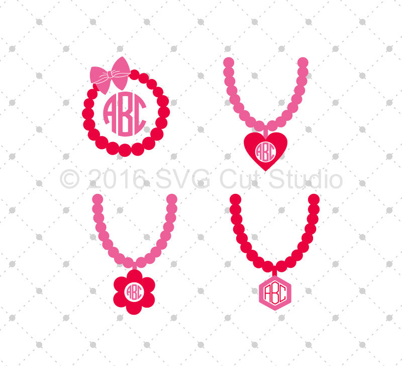 Pearls Strand SVG Cut Files