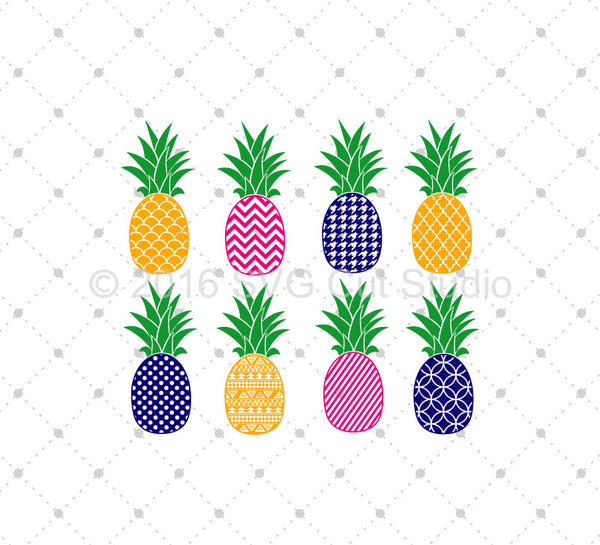 Svg Cut Files For Cricut And Silhouette Pineapple Files