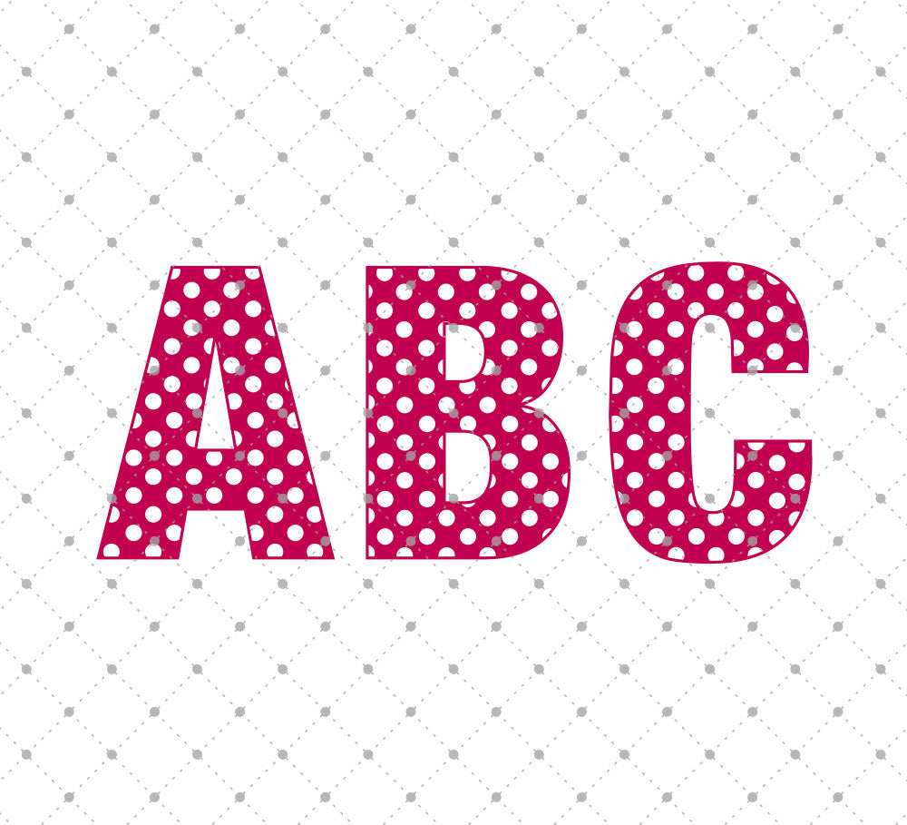 Download SVG Cut Files for Cricut and Silhouette - Polka Dot ...