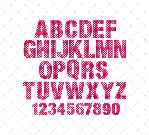 Svg Cut Files For Cricut And Silhouette Polka Dot