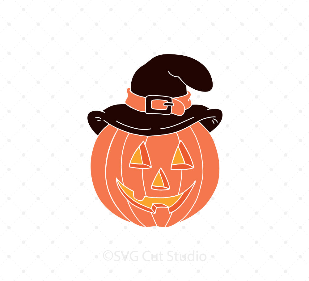 Jack O Lantern SVG Cut Files, Pumpkin SVG Files