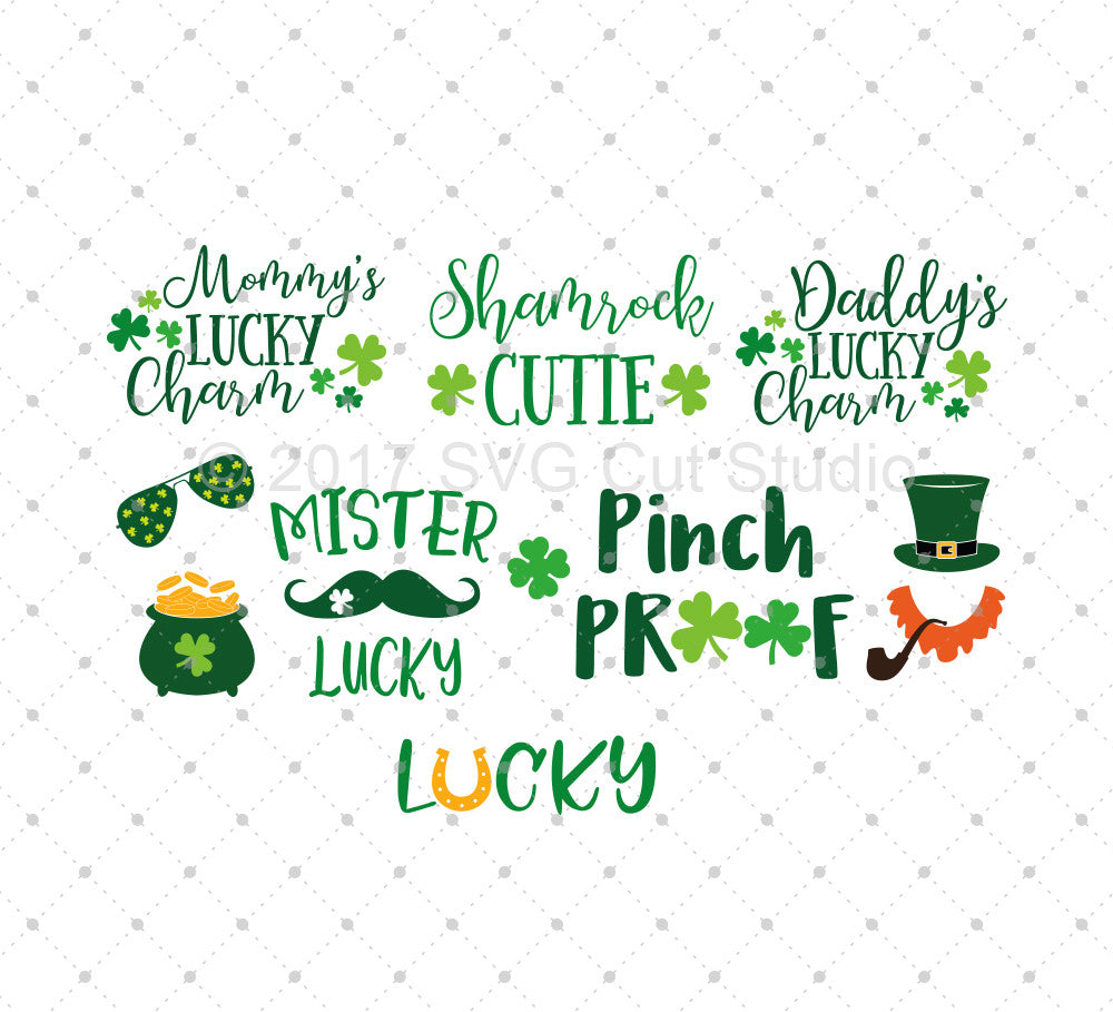 St Patrick's Day SVG Cut Files