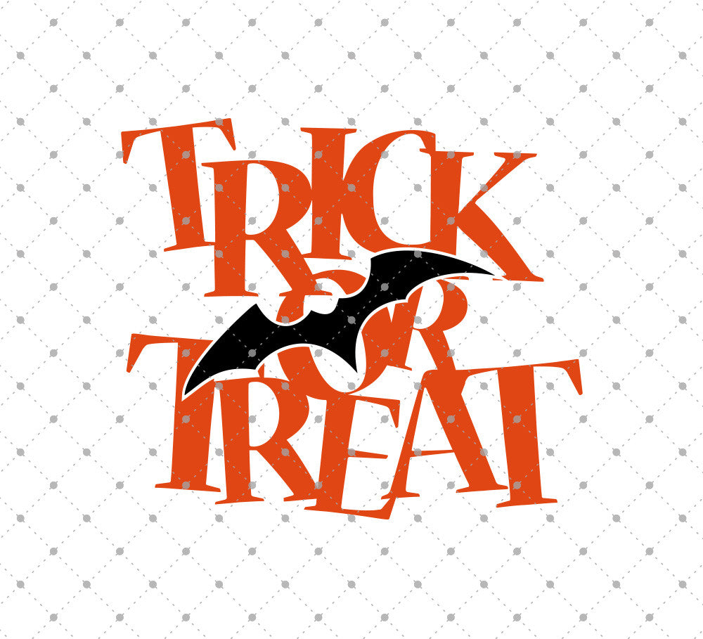 Trick or Treat SVG Cut Files D2 - SVG Cut Studio