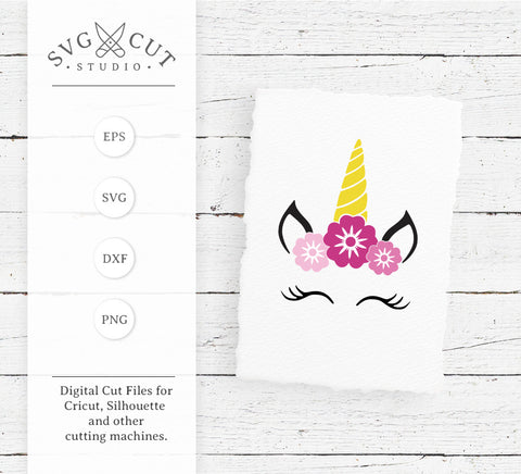 Unicorn SVG Cut Files