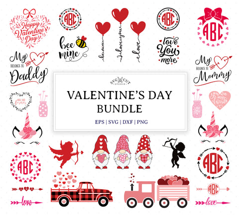 Valentine Bundle SVG