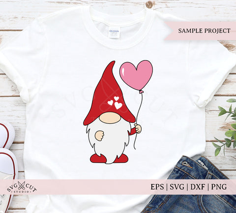 Valentine Gnome SVG Files