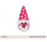 Valentines Day Gnome SVG Files