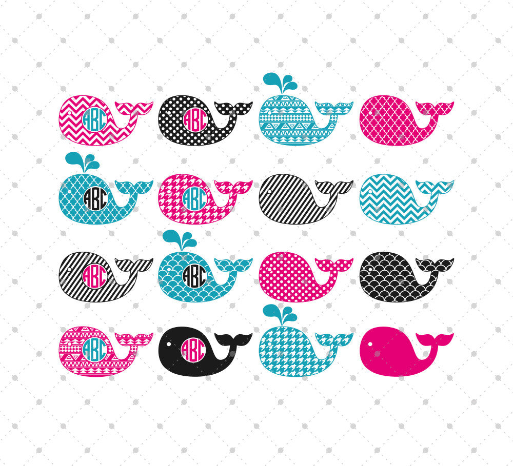 Whale SVG Cut Files