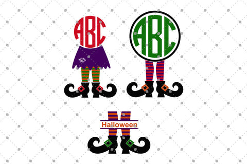 SVG files for Cricut Witch Legs SVG Cut Files Silhouette Studio3 files PNG clipart free svg by SVG Cut Studio