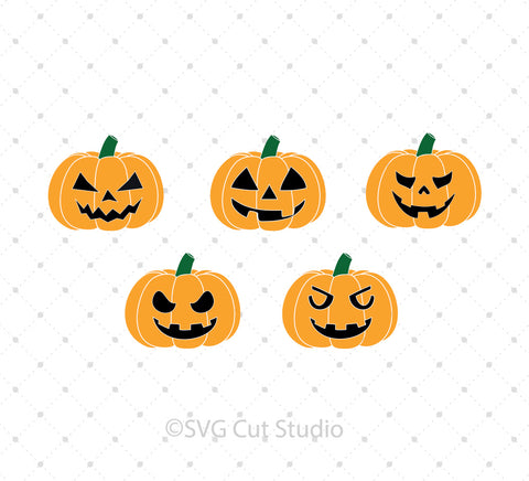 Jack O Lantern SVG Cut Files at SVG Cut Studio for Cricut Explore Silhouette Cameo free svg files