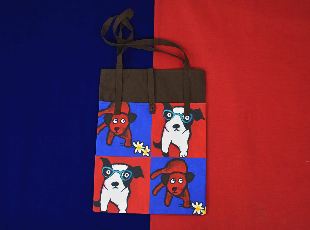 Romeo Dogs Tote Bag