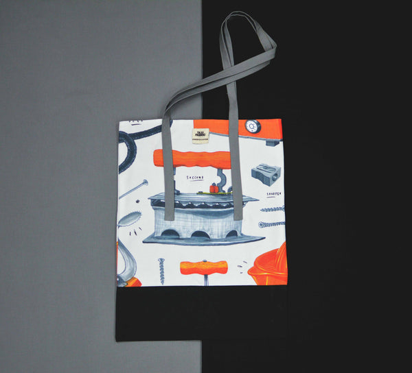 City as Iron Travel Tote