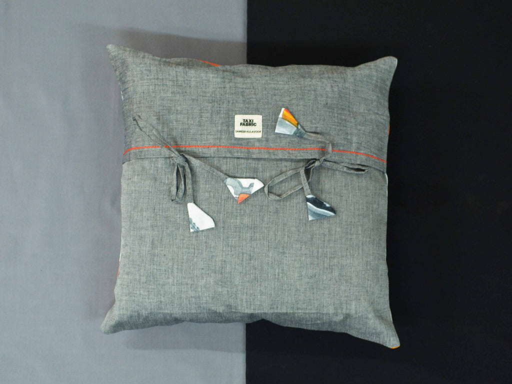 City as Juicer Cushion Cover
