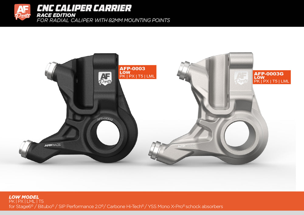 RACE Edition - CNC Caliper carrier PK - LOW