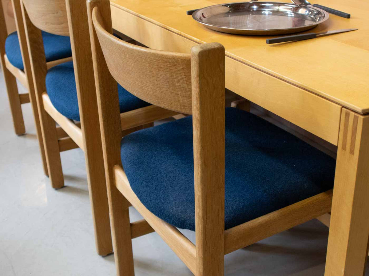 Vintage Danish dining chairs