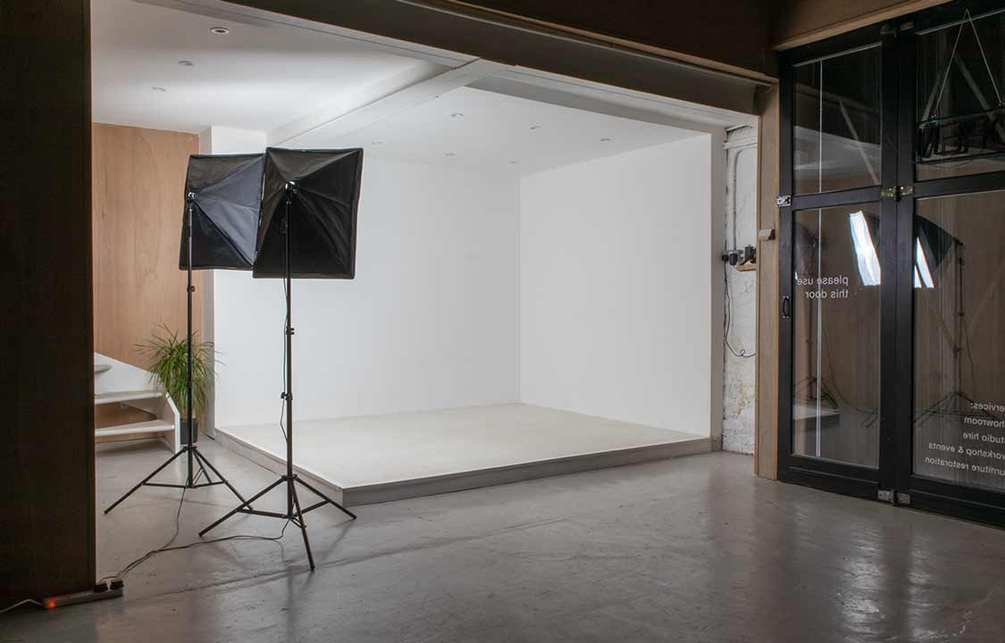Photography space hire east London