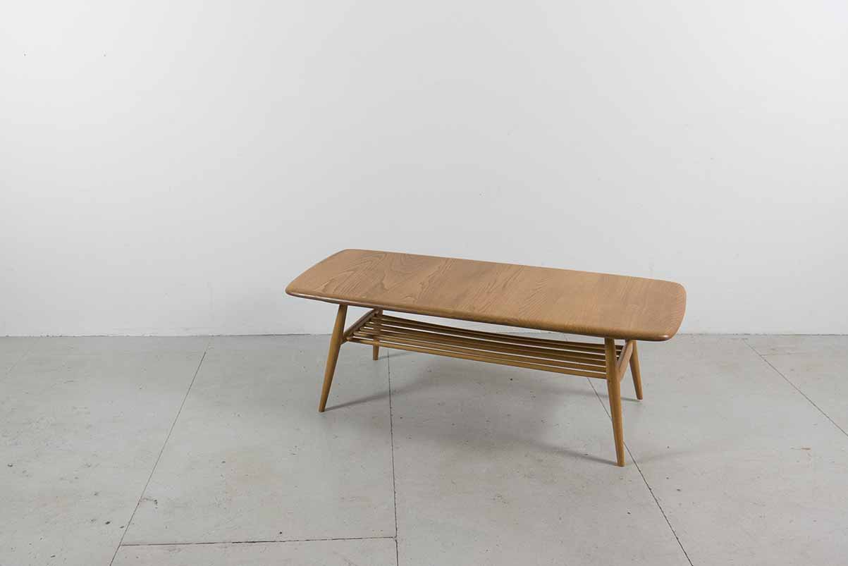 Ercol rectangular coffee table