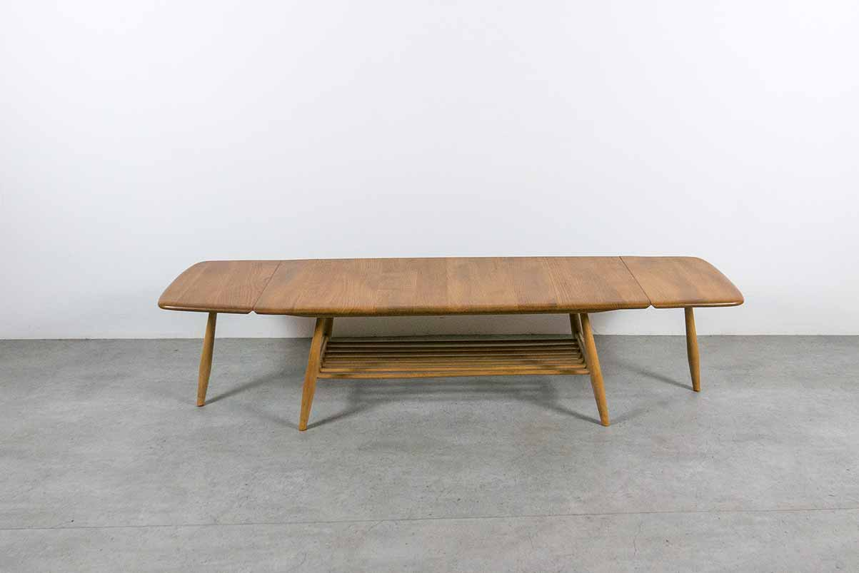 vintage Ercol extending coffee table