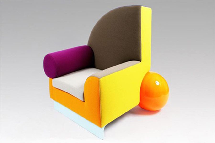 Vintage Bel Air armchair by Peter Shire
