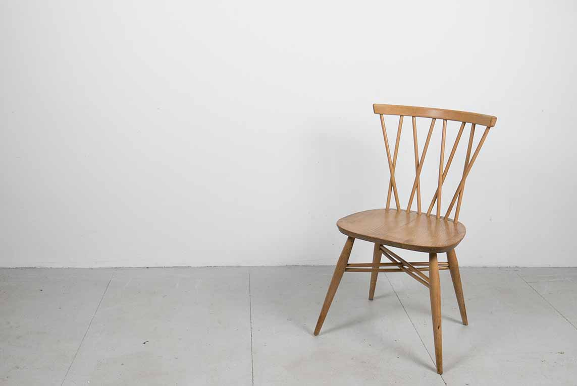 Vintage Ercol Candlestick Chair