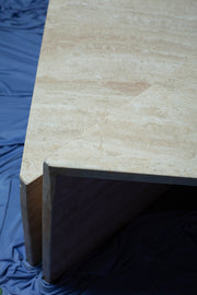 Travertine Up & Up Coffee Tables