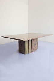 Mauve, Rectangular Coffee Table