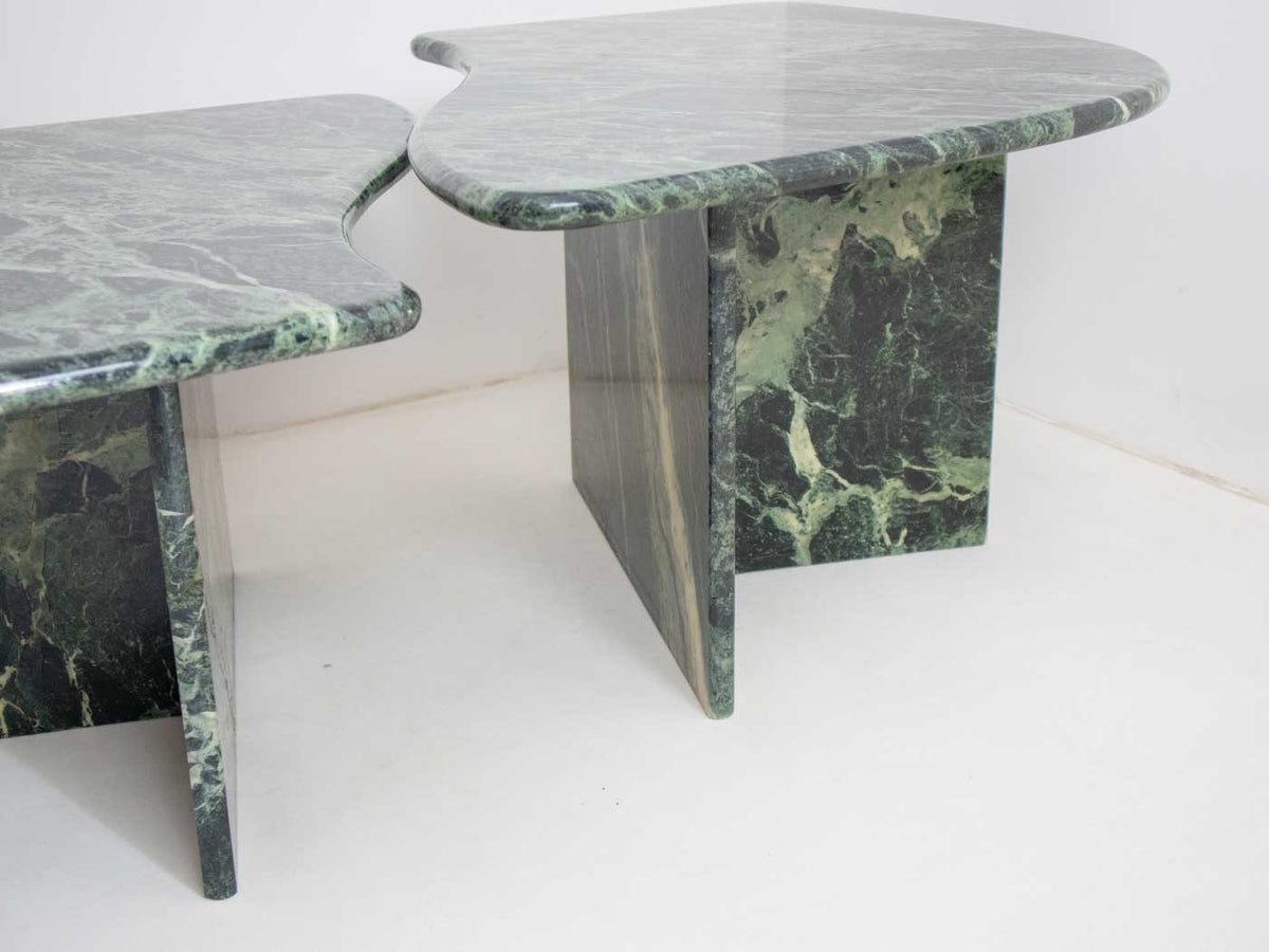 Italian coffee tables in marble