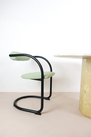 retro black dining chairs London