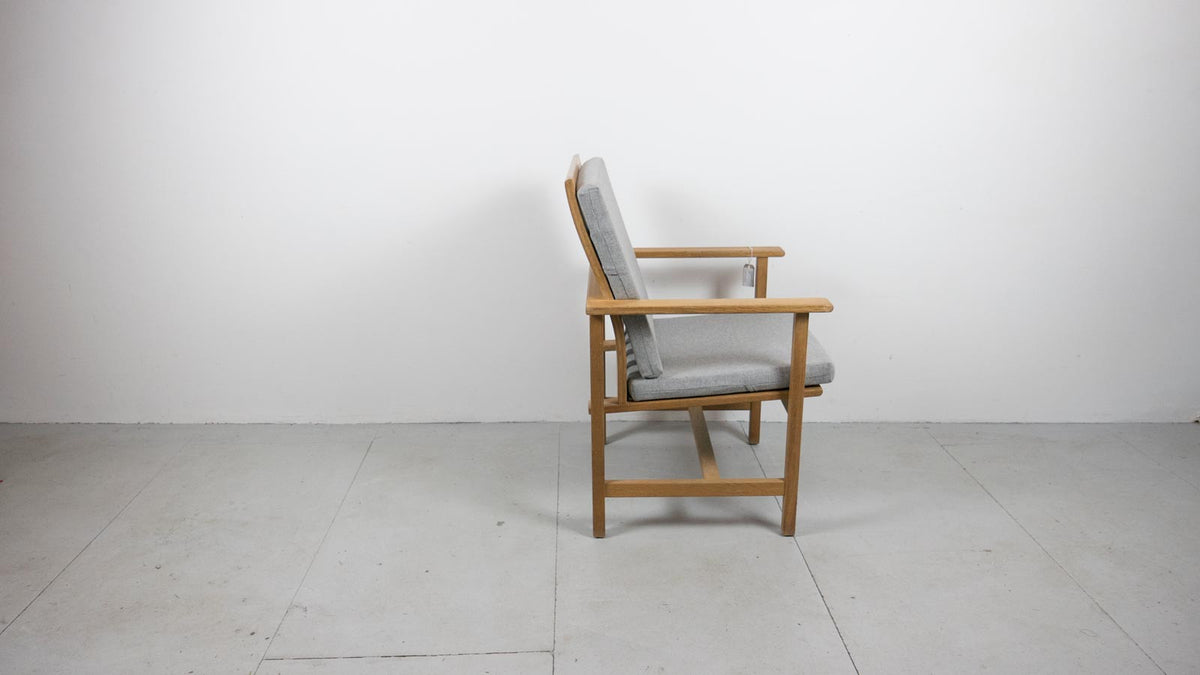 Danish Modern chair side profile