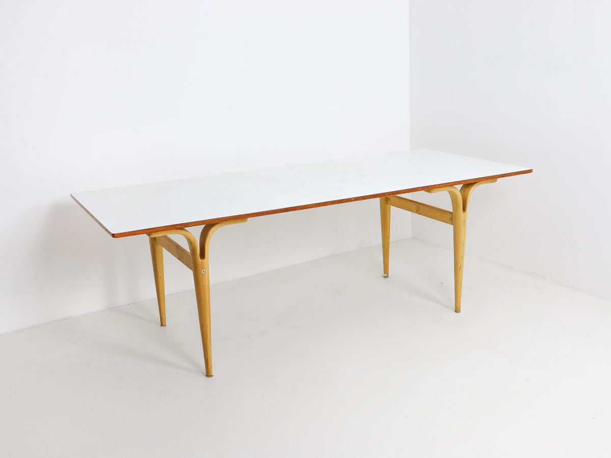 Bruno Mathsson cleft leg table