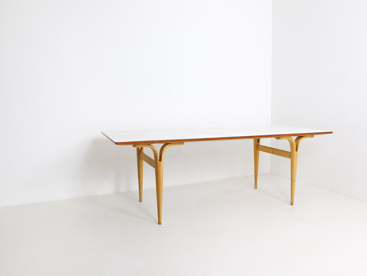 Bruno Mathsson Coffee Table with Cleft Legs