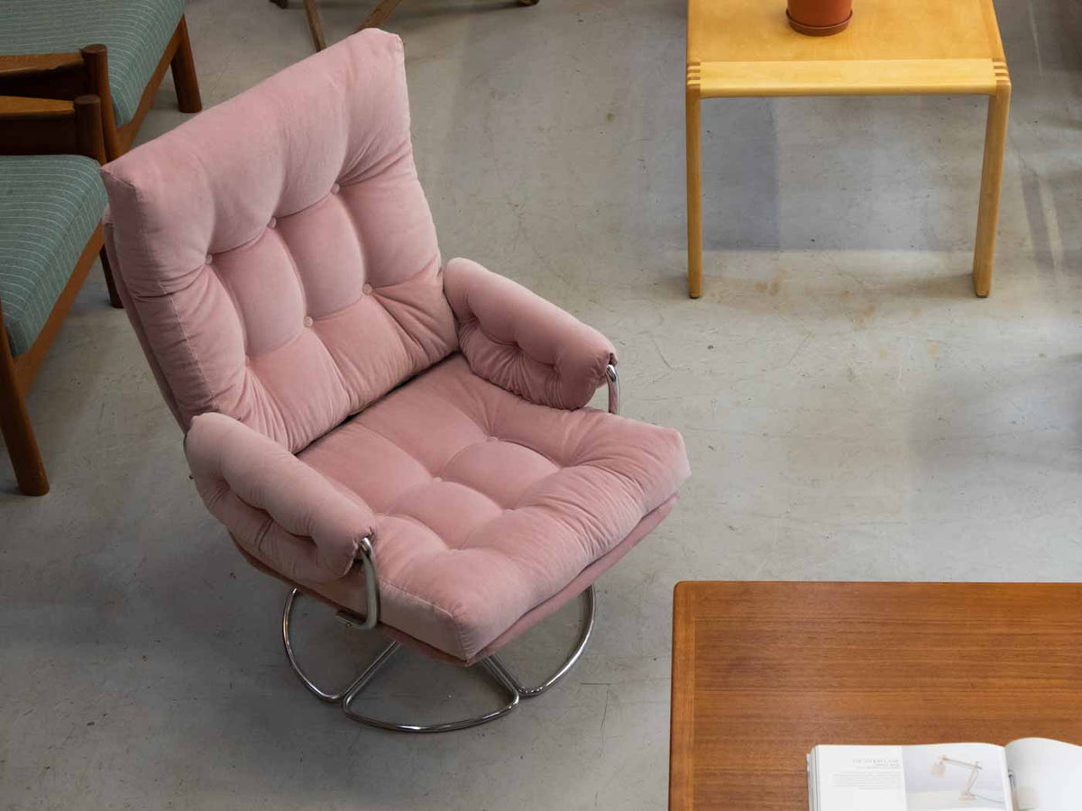 Bruno Mathsson Swivel Chair for Dux