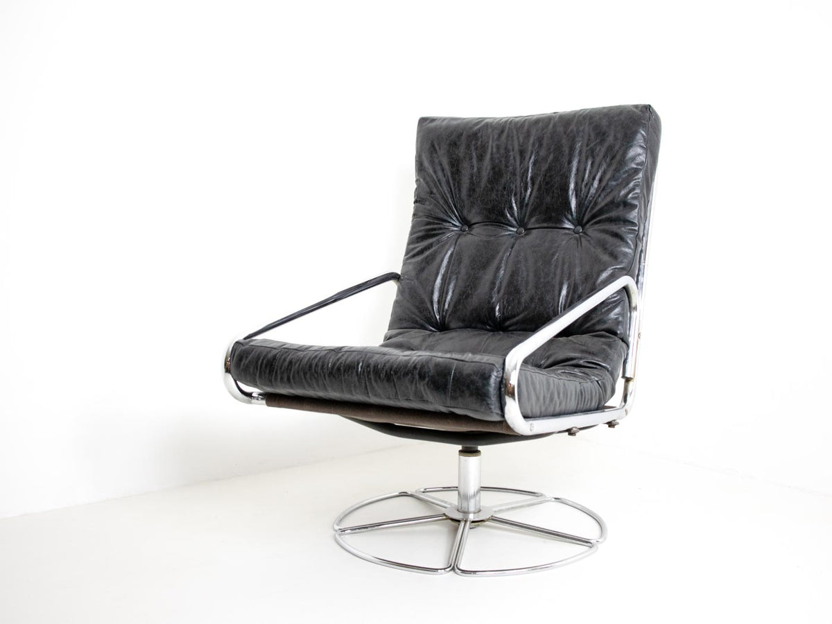 Terrific Bruno Mathsson Style Swivel Chair Home Interior And Landscaping Mentranervesignezvosmurscom