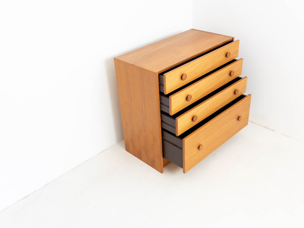 Danish Domino Møbler chest of drawers
