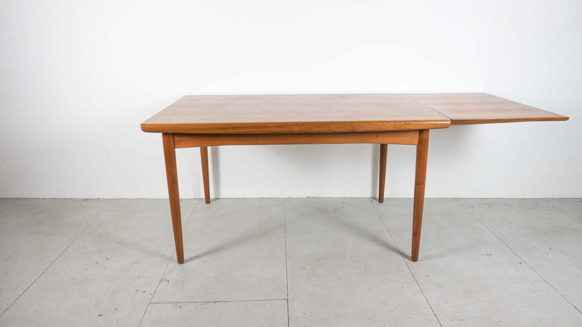 mid-century extending table