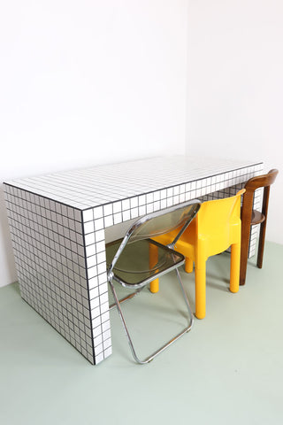 tiled table made in Uk