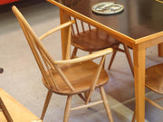 Vintage original Ercol Quaker carver chair