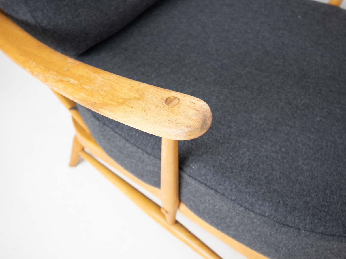 retro Ercol easy chair