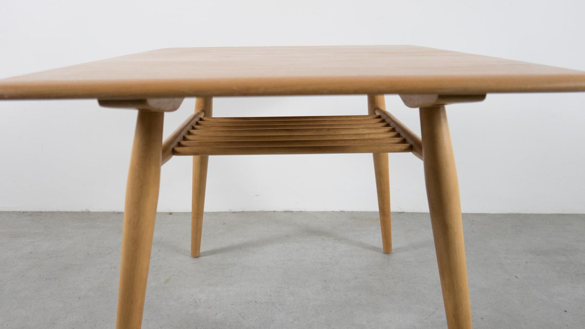 Ercol table with rack