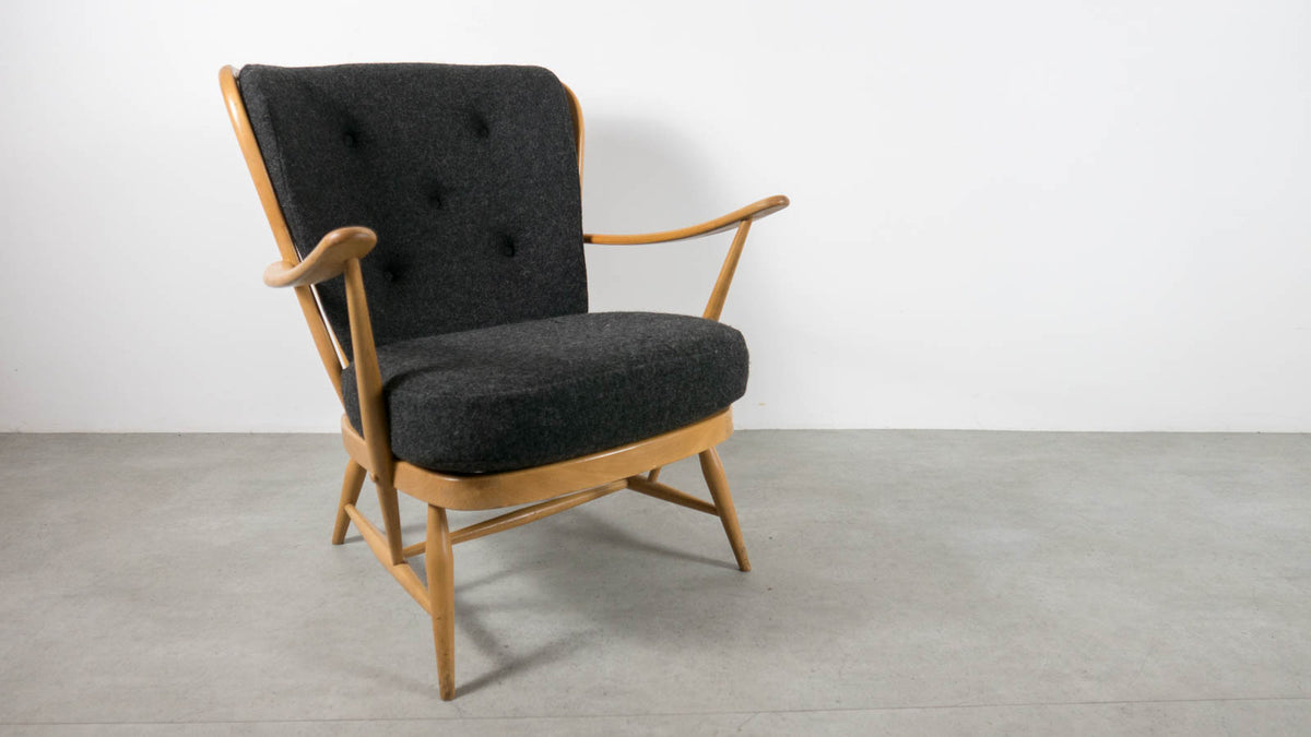Ercol high back Easy Chair