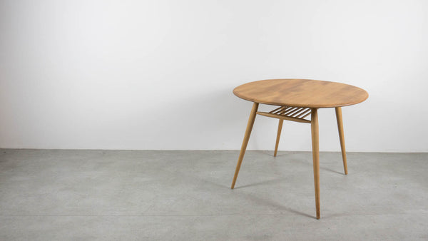 Ercol oval breakfast table
