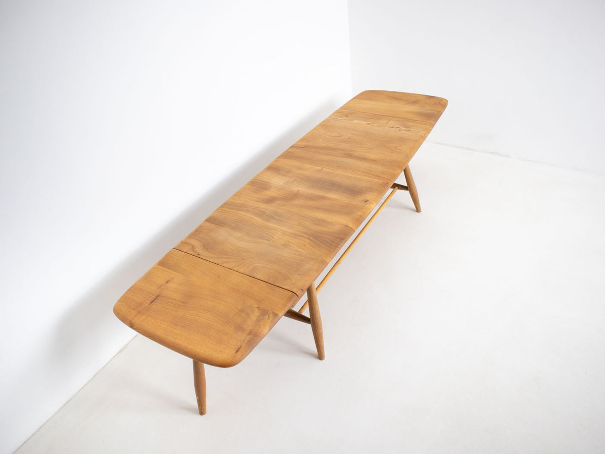 Solid wood Ercol extending coffee table