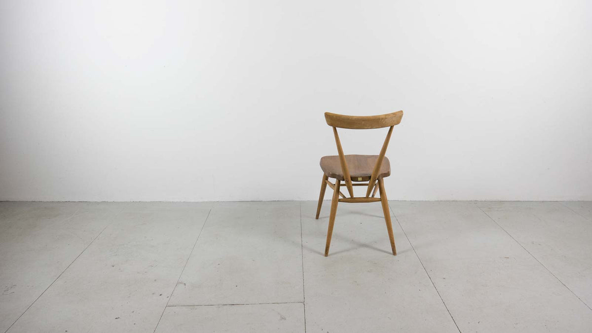 Ercol stacking chair reverse