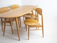 Scandi-style table and chairs